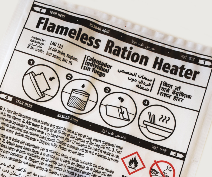 Luxfer Magtech supply flameless ration heaters internationally, with customisable packaging