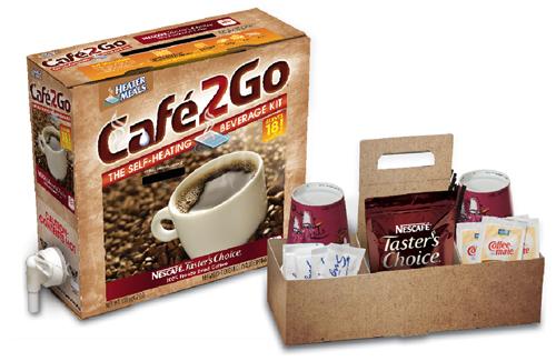 Café2Go® Self-Heating Coffee Kits