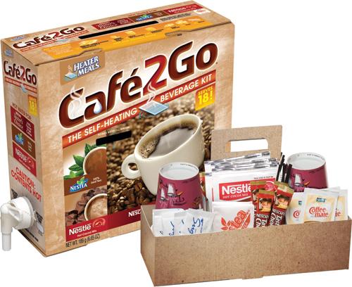 Café2Go® Self-Heating Variety Beverage Kit