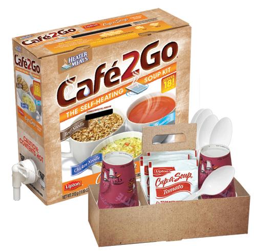 Café2Go® Self-Heating Soup Kits